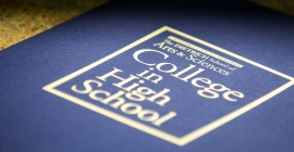 College in High School Brochure